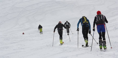 X3 Courchevel - Ski Alpinisme